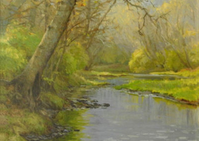 Ann Geise-Last Light on the East Fork