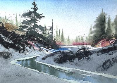 David Rankin - Cold Clear Winter Morning